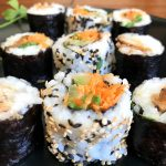 california rolls vegan